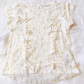 Boho baby top this is a nwt baby girl fringe top in an off white and