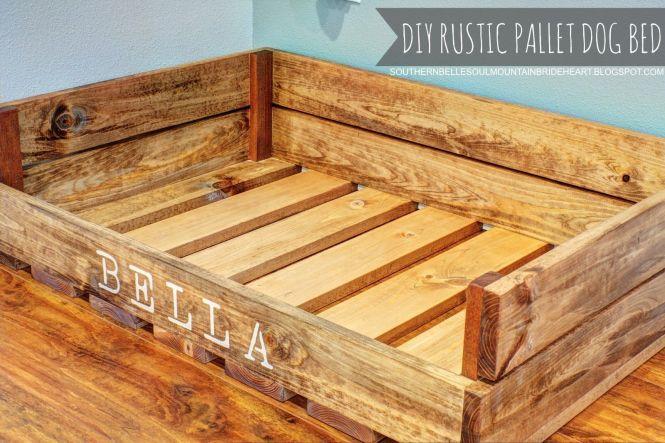 12 unique diy dog beds for any decor pallet - Diy Dog Bed Frame