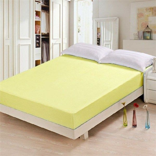 New Design Bamboo Fiber Waterproof Mattress Protector With High Quality In Greenwood