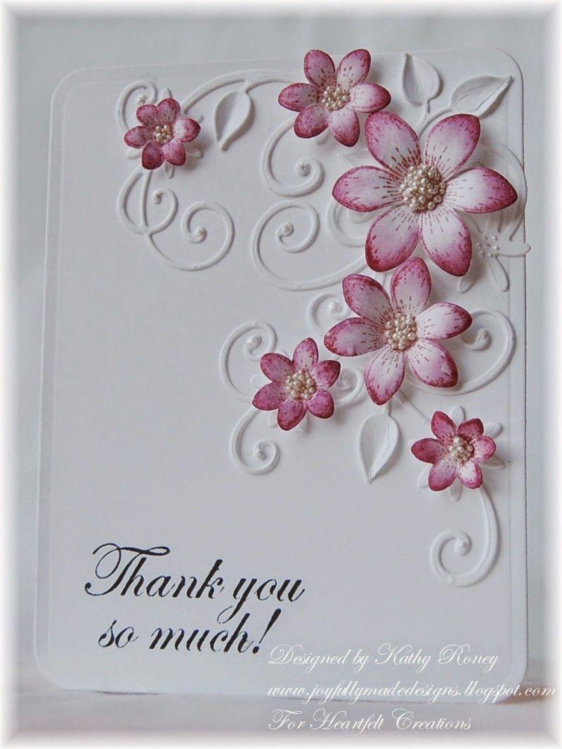 handmade thank you cards uk