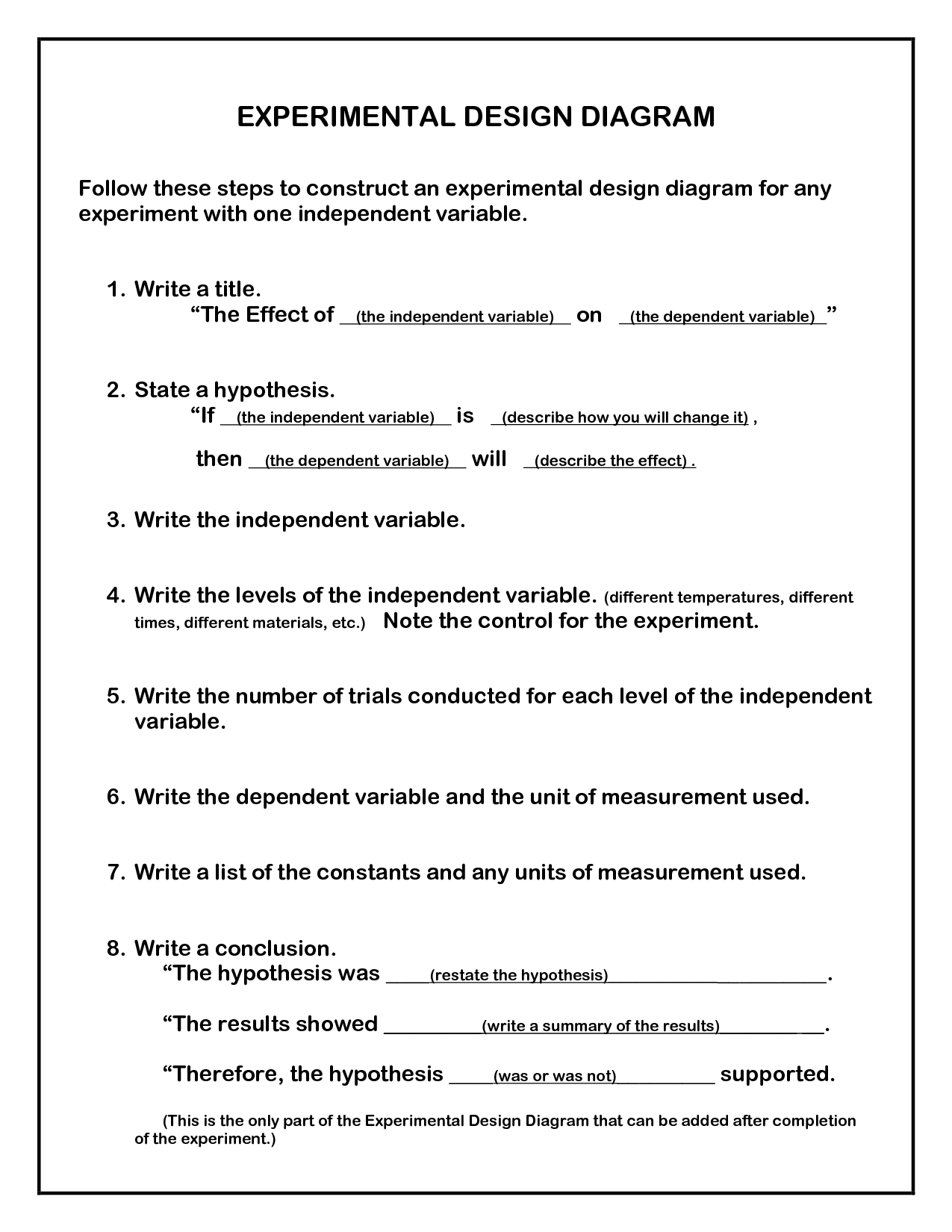 Jr High Science Energy Worksheet