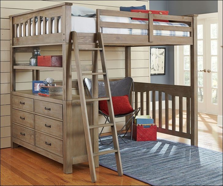 Loft Beds for Full Size Mattress  bed with storage  Pinterest