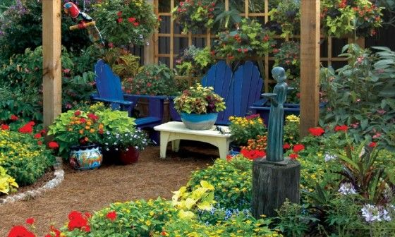 Cottage Front Yard Landscaping on Pinterest on Cottage Yard Ideas id=24090