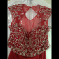 Red beaded piece prom dress nwt prom dresses pictures of and