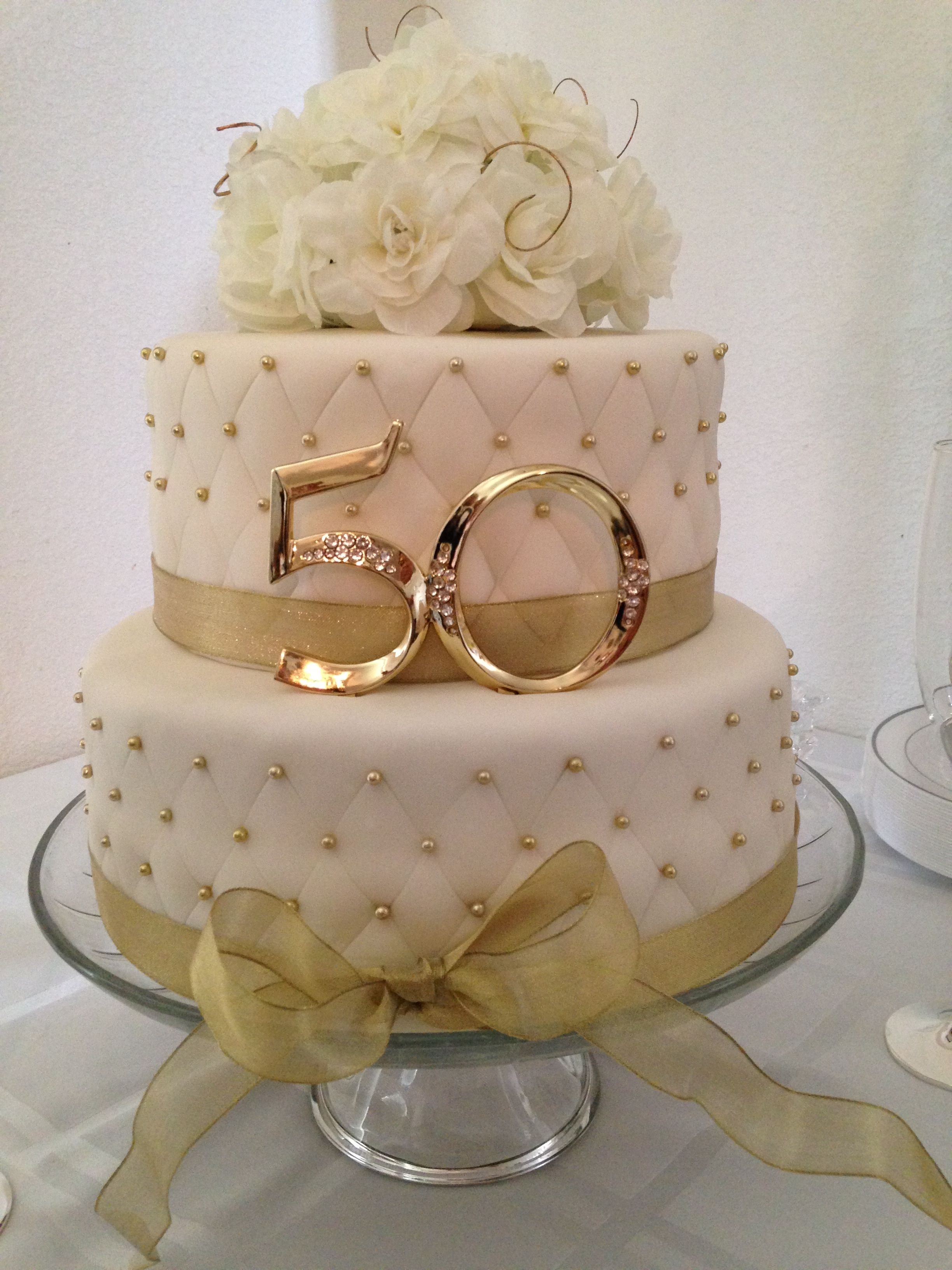 50th Anniversary Cakes