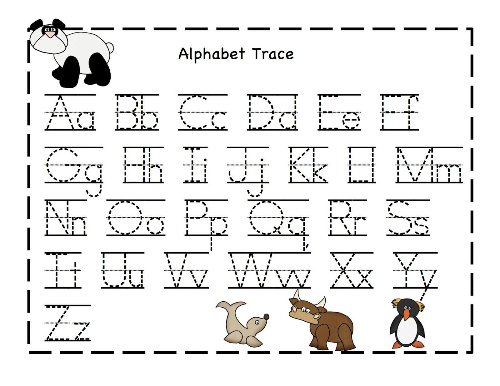 Alphabet Printables Sheets