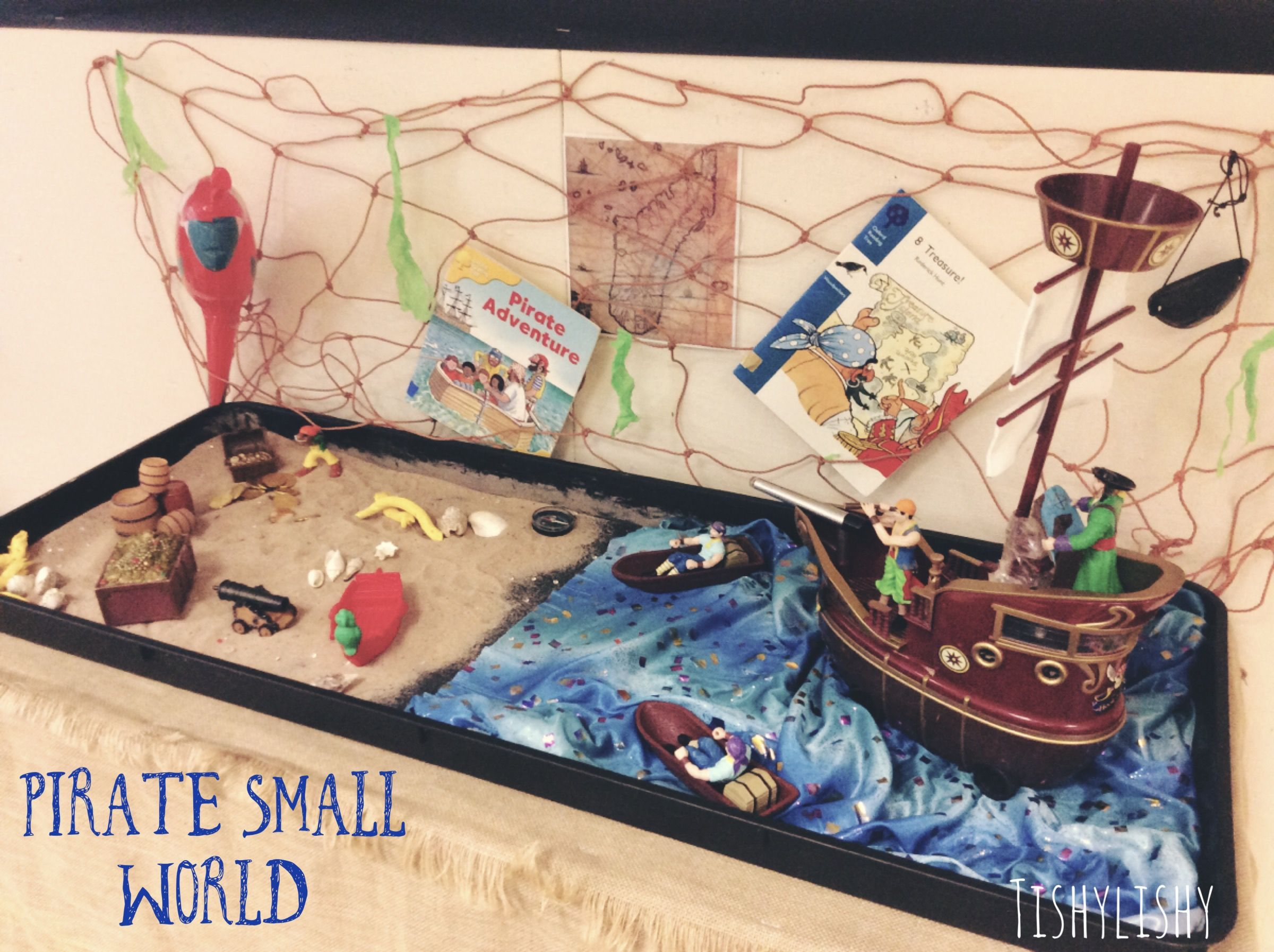Small World Pirate Play In My Eyfs Classroom