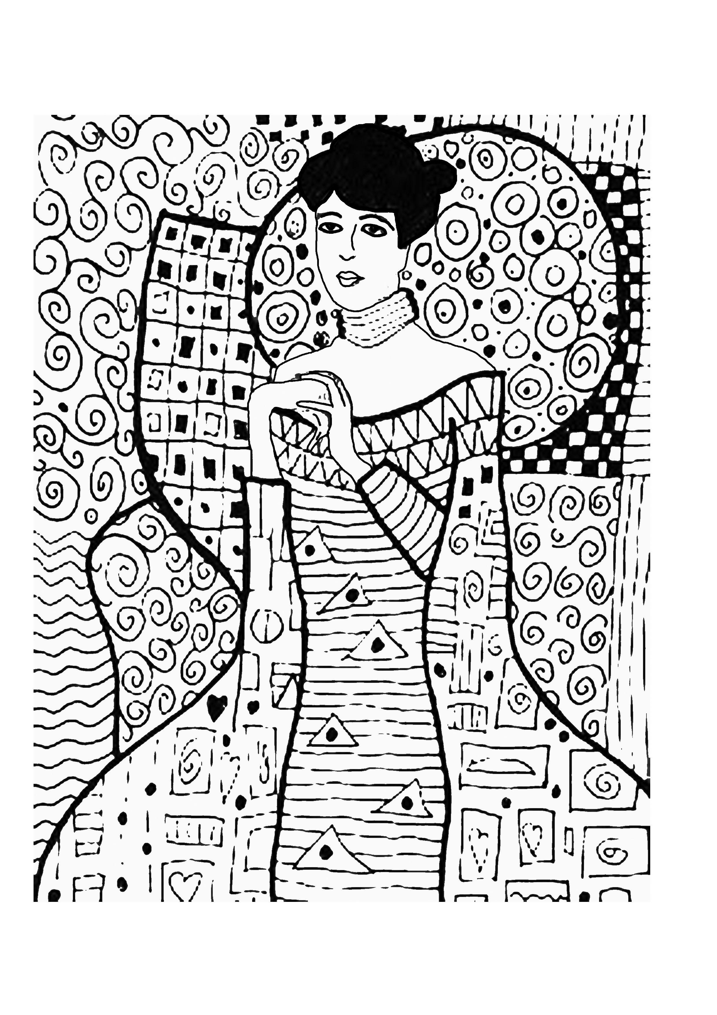Retrato De Adele Bloch Bauer Klimt