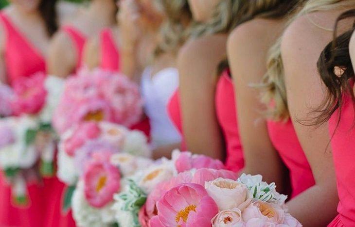A Spectrum of Gorgeously Pink Wedding Ideas  Weddings