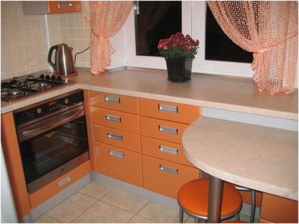 Идеи дизайна кухни в хрущевке (44 фото).   Дизайн кухни ...