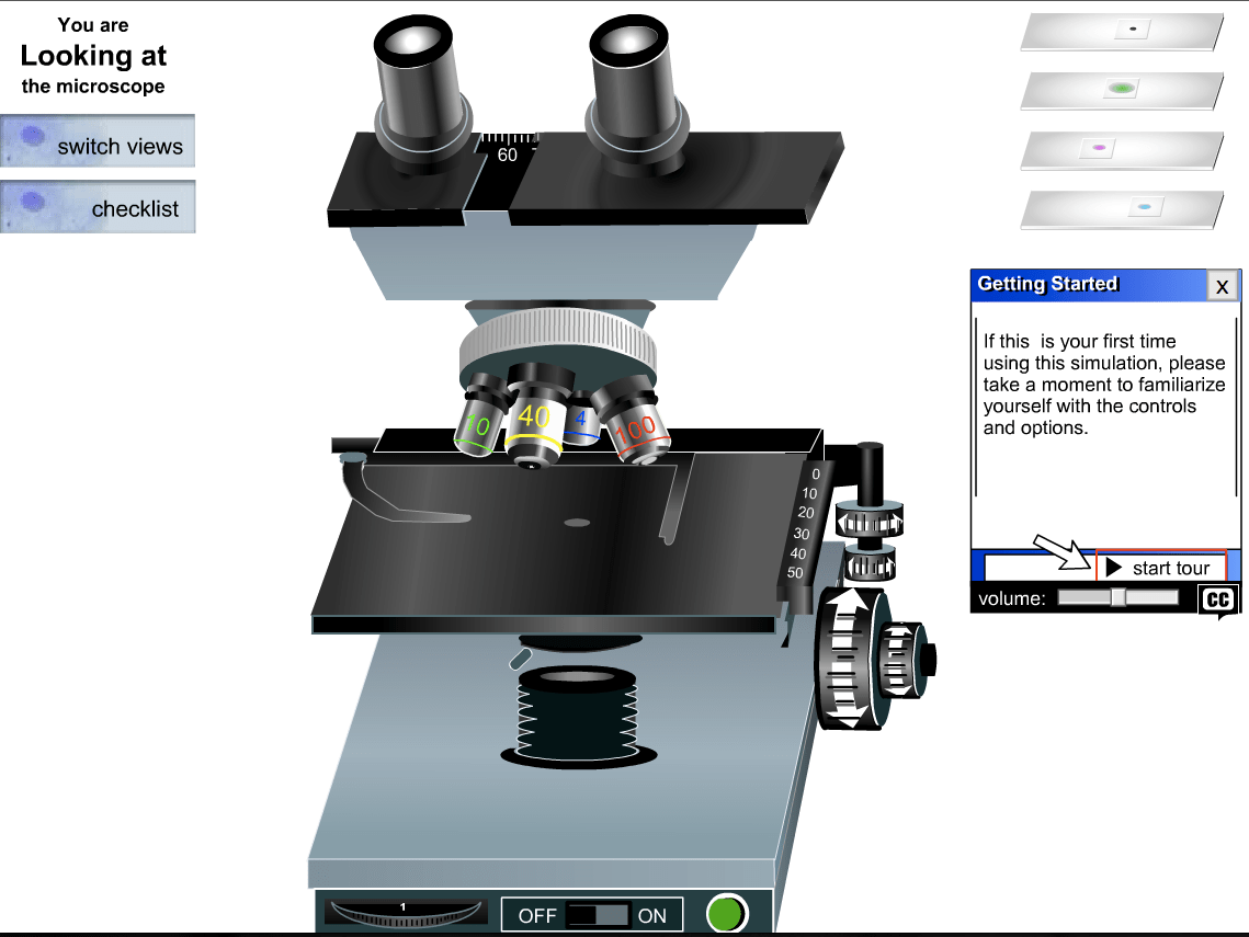 So Neat Virtual Microscope Click On The Link To The