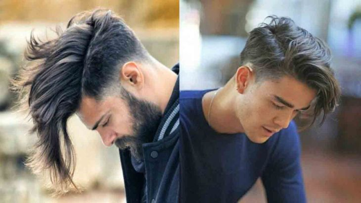 Long side part best long haircuts and hairstyles for men in