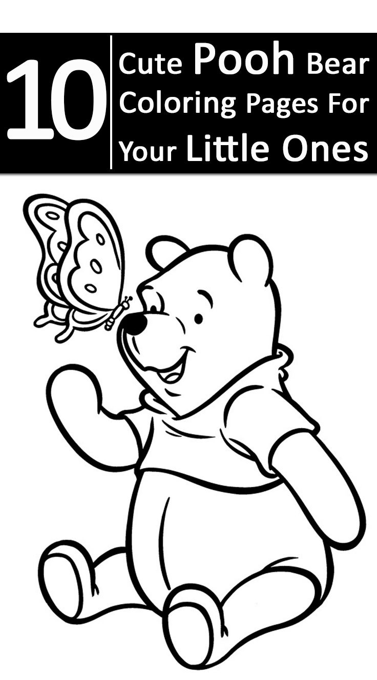 Top 10 Free Printable Pooh Bear Coloring Pages Online Bears