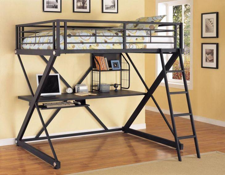 Colgar una cama del techo o pared  Lofts Desk bed and Space saver