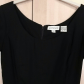 Classic little black dress size lbd scoop neck and cap