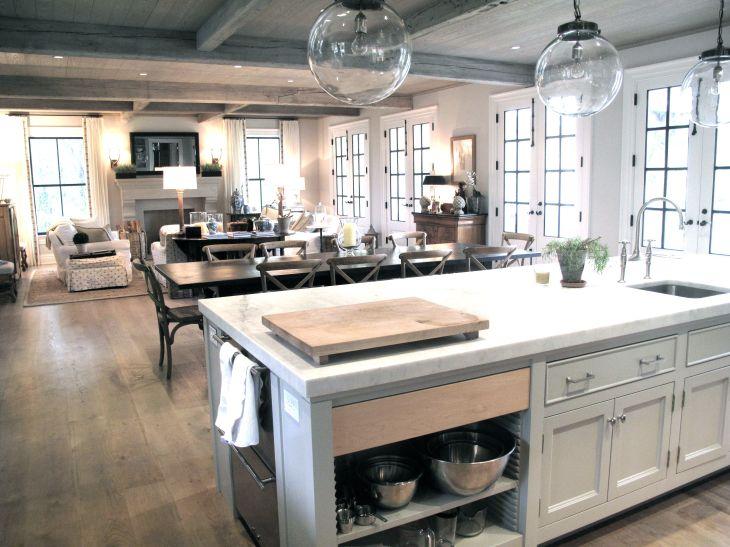 Design Process Floor Plan Open floor Globe pendant and Open layout