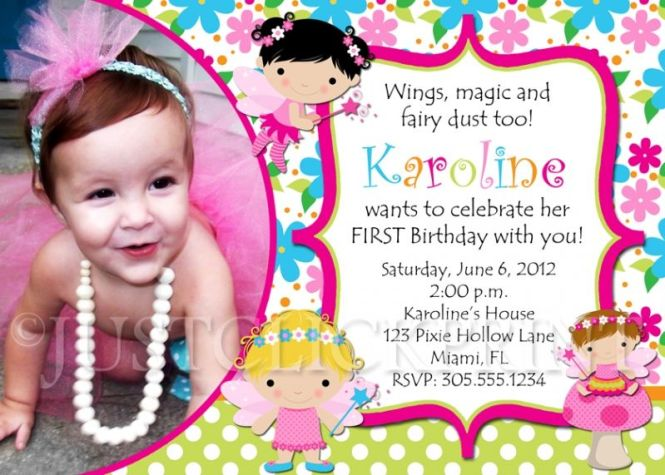 What To Write In My Birthday Invitation Card – What to Write on a First Birthday Card
