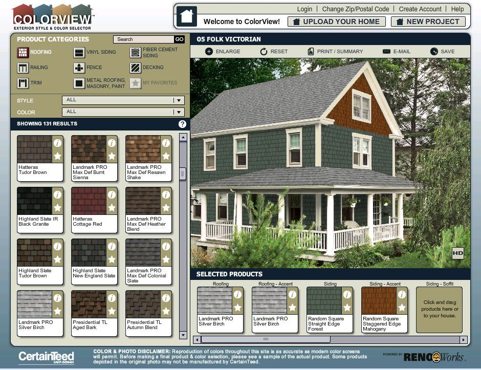 colorview exterior style and color visualizer try out on exterior house color combinations visualizer id=72123