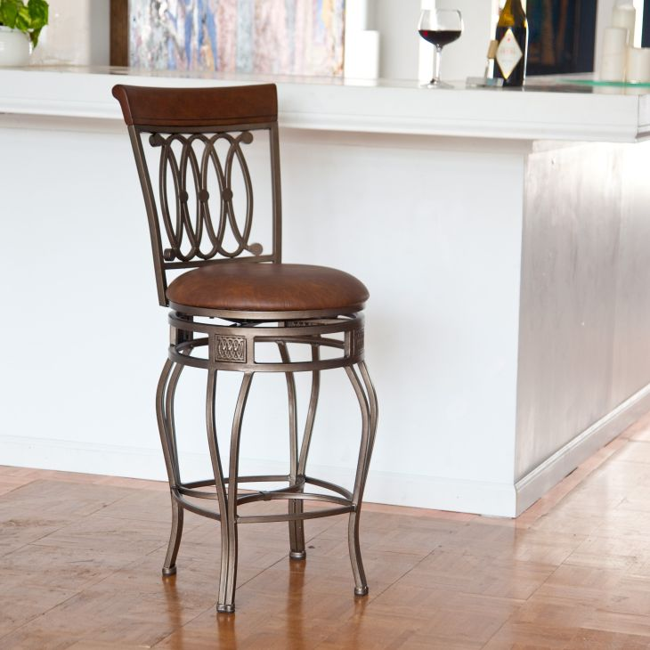 Hillsdale Montello in Swivel Counter Stool from hayneedle