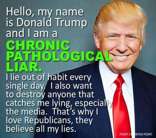 Ain't Nobody Got Time for Trump's 100 Lies – MaliaLitman.com