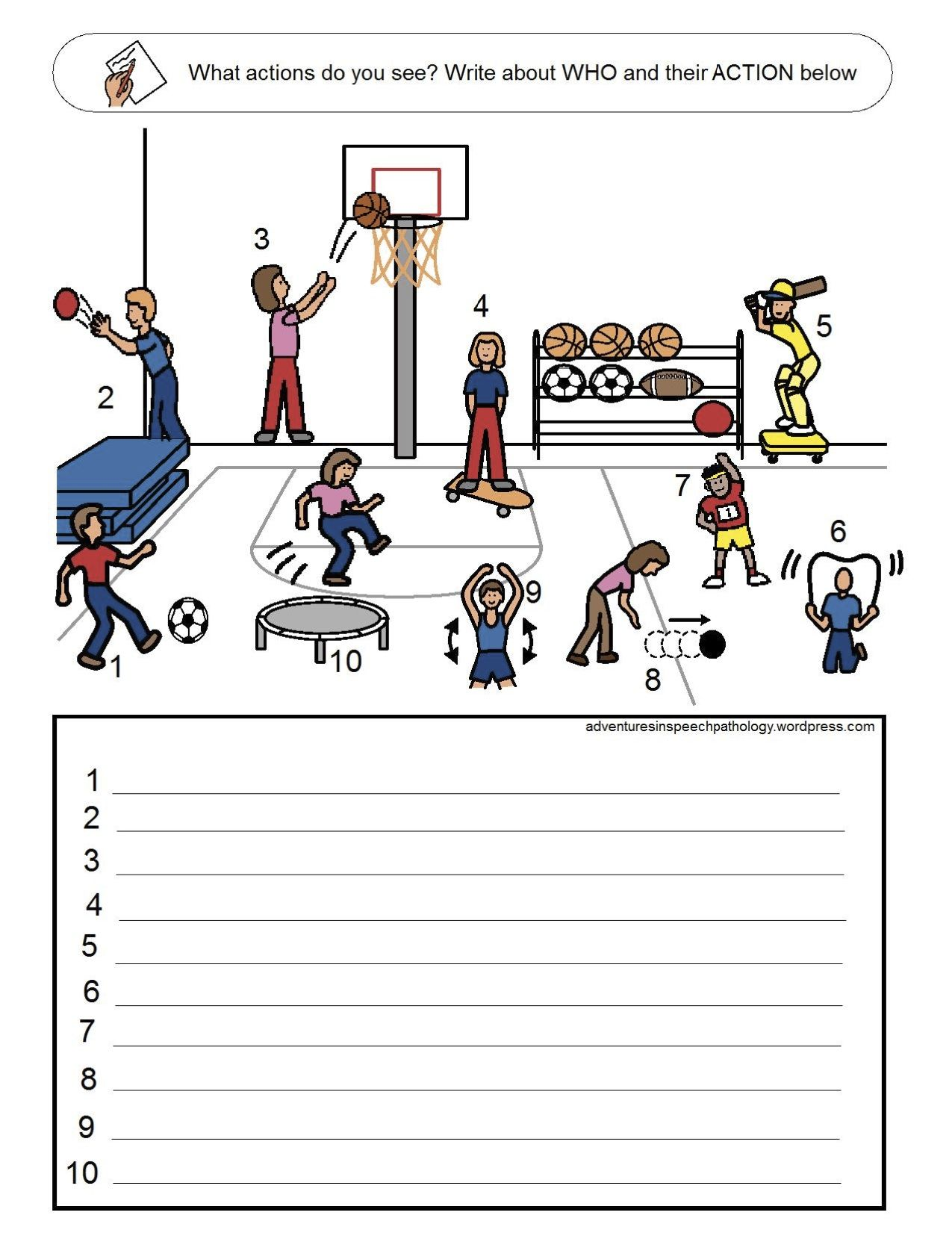 Subject And Verb Loaded Worksheets Set 4 From Adventures In Speech Pathology Pinned By Sos Inc