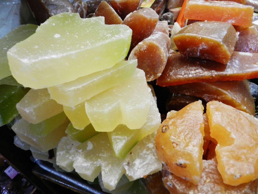 Resultado de imagen para fruta cristalizada