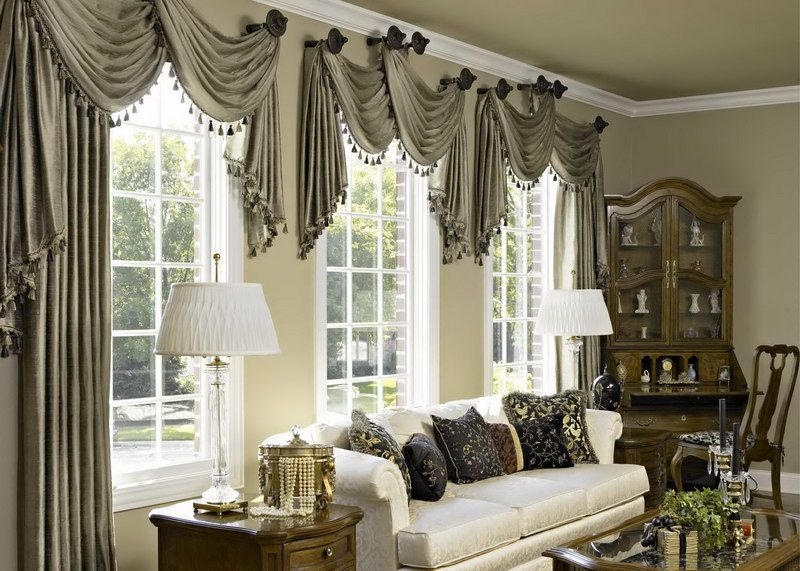Curtains For Living Rooms With Large Windows