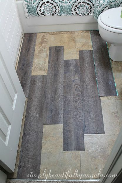 Simply Beautiful By Angela Peel And Stick Vinyl Flooring For The Home Pinterest House And