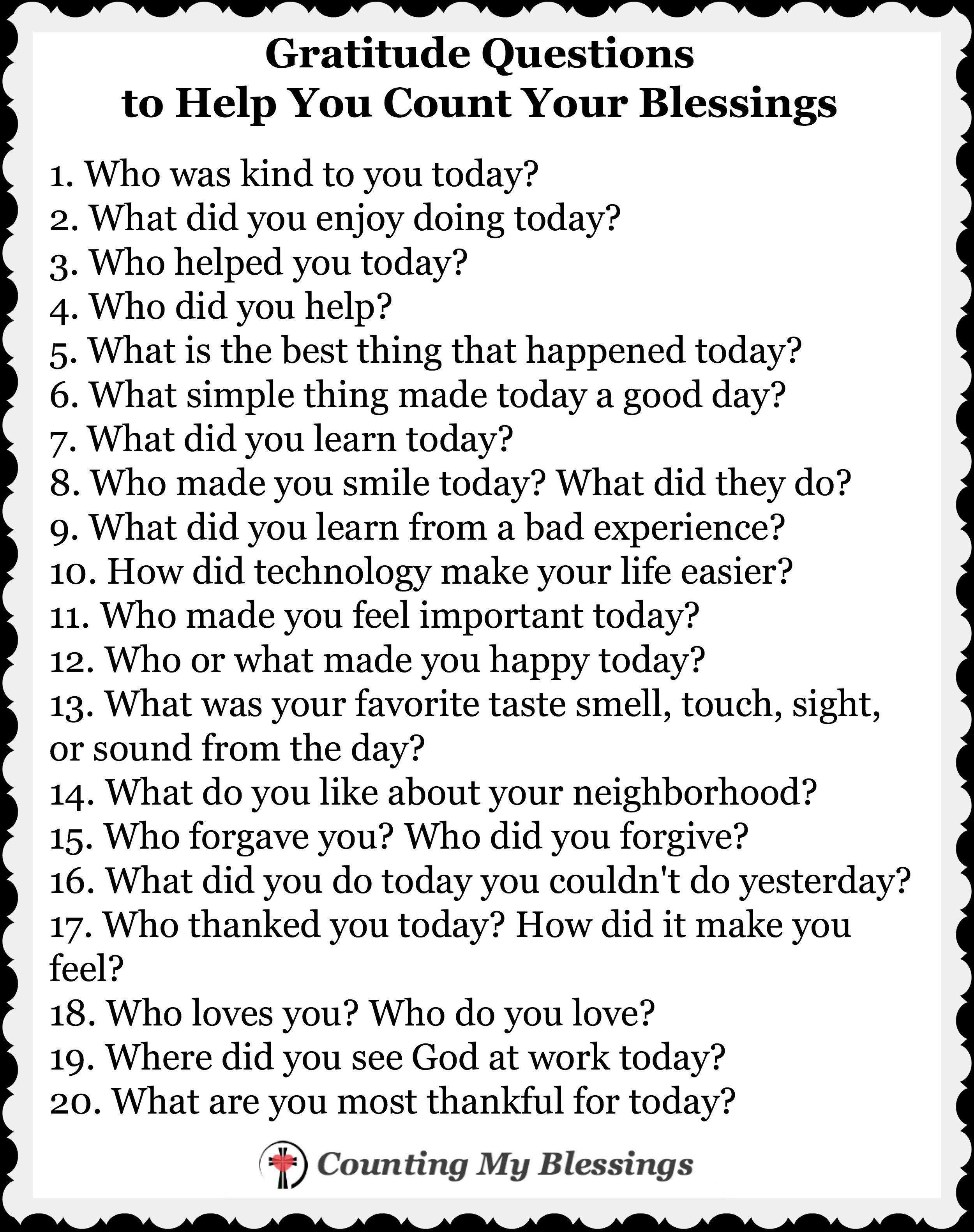 How To Change Your Life 7 Blessings A Day