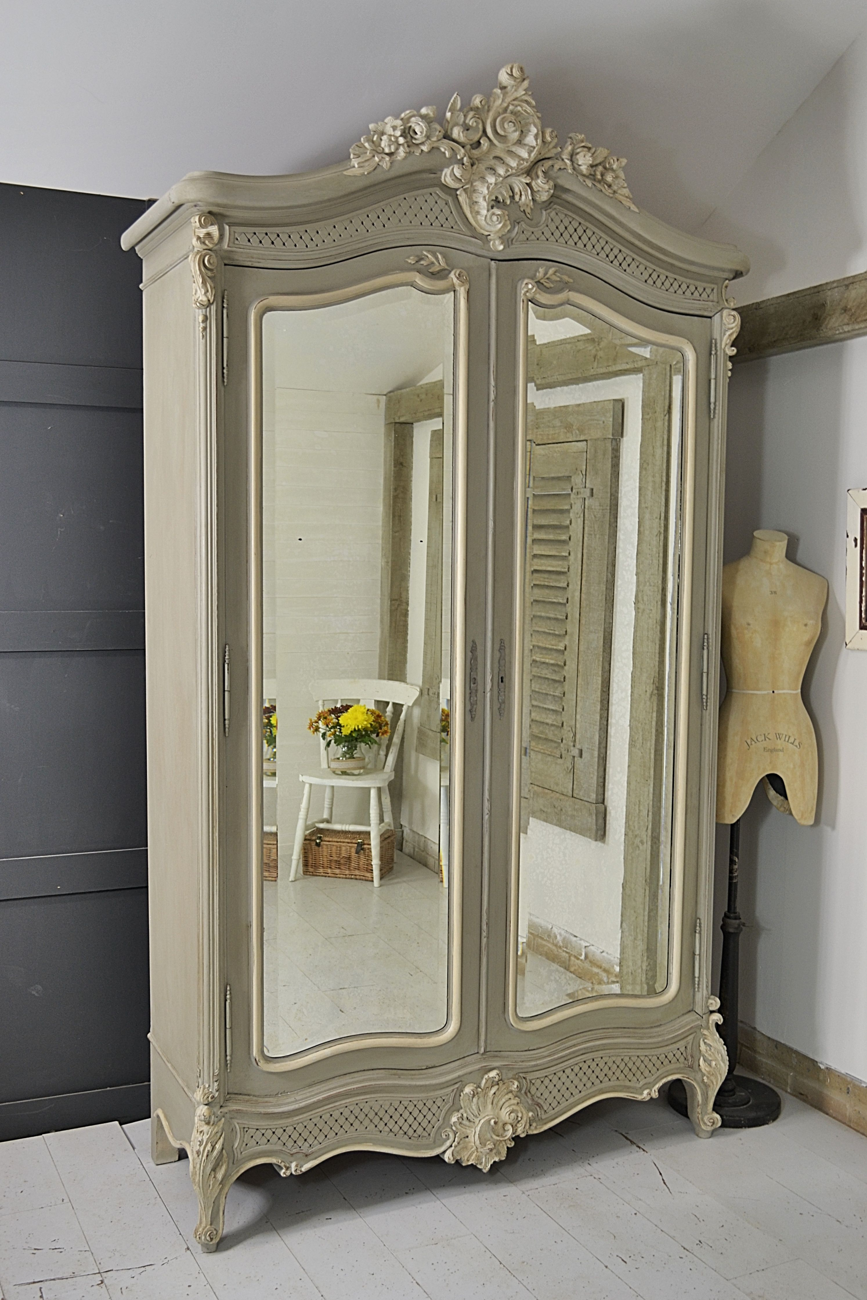 This Beautiful Shabby Chic French Armoire Would Make A