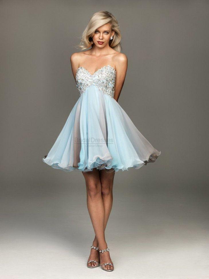 short sky blue dress save things i love Pinterest Blue
