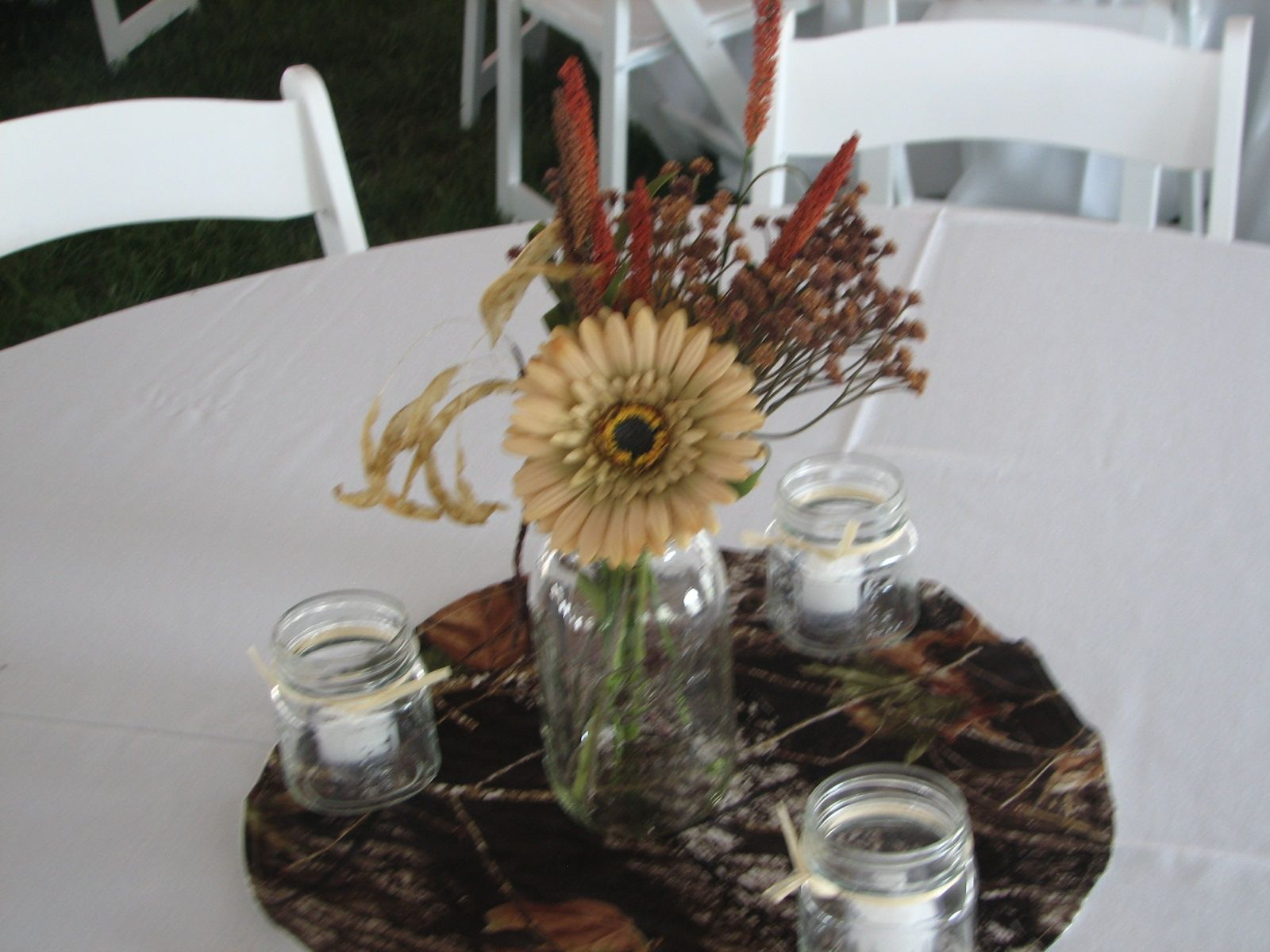 Camouflage Decorating Ideas For Weddings