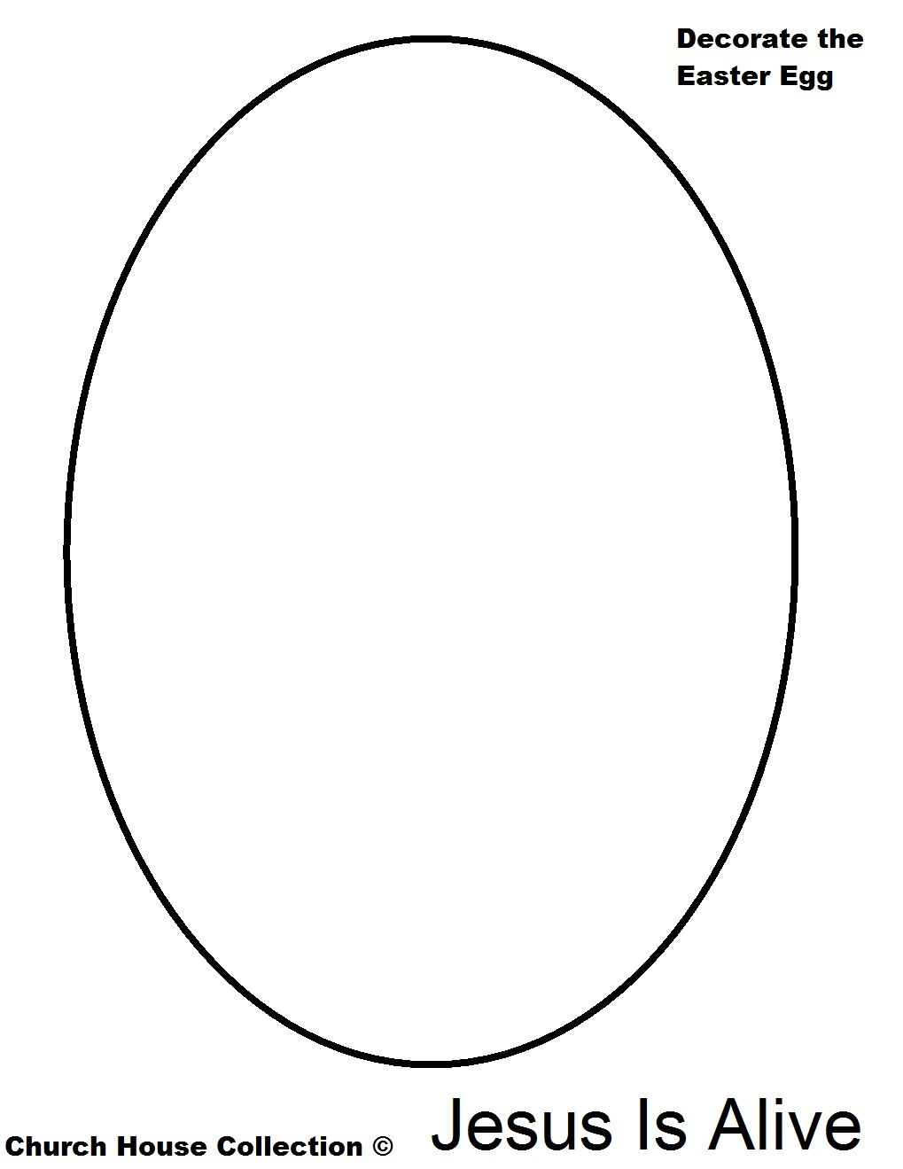 Easter Egg Coloring Page Jesus Is Alive 1 019×1 319 Pixels