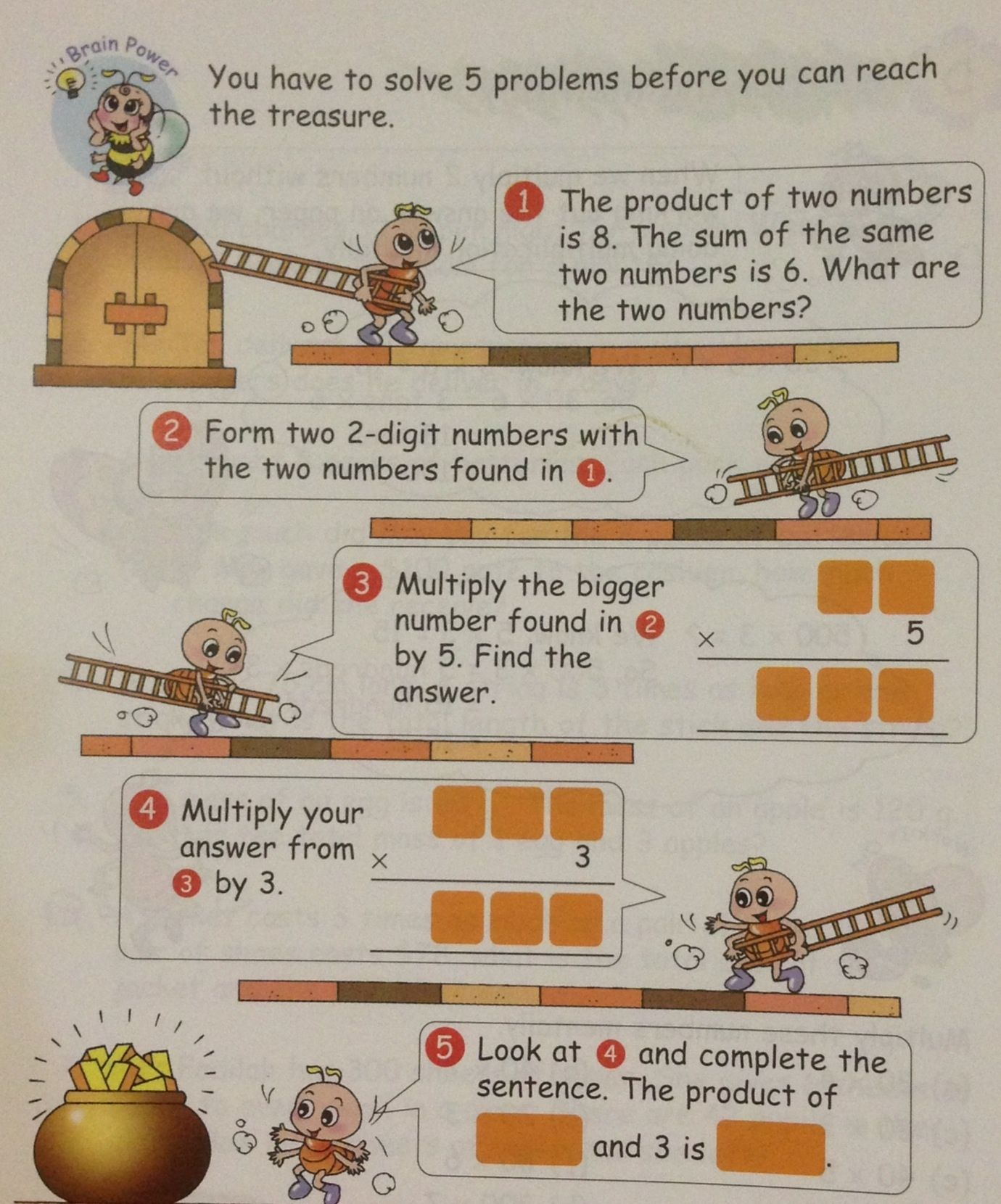 A Grade 3 Item On Mental Multiplication Singapore Math