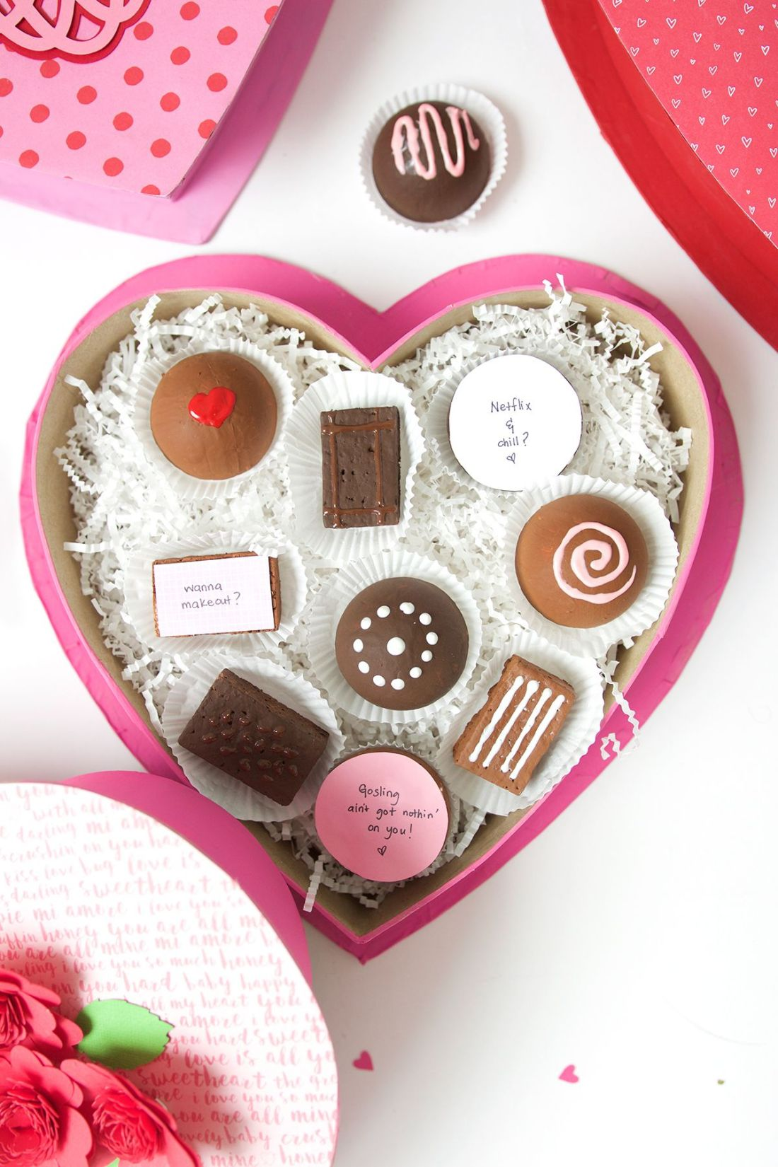 Diy valentines day box of chocolates make your own