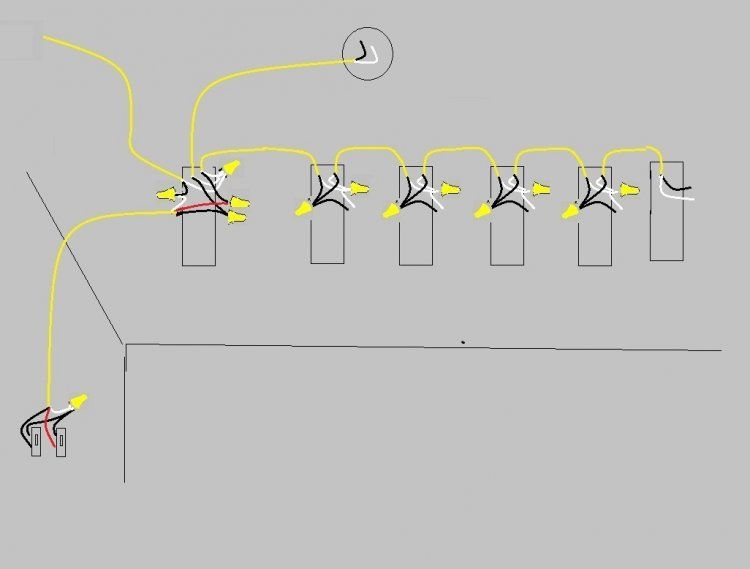 One switch three lights dolgular wiring diagram three lights two switches asfbconference2016 Choice Image