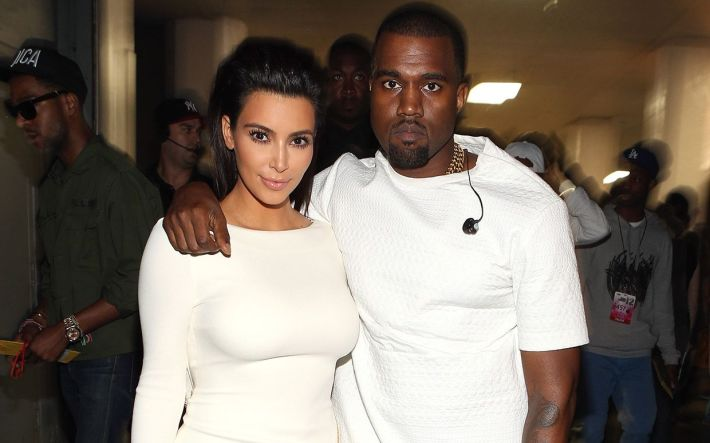 Image result for kim kardashian 2014 and kanye west