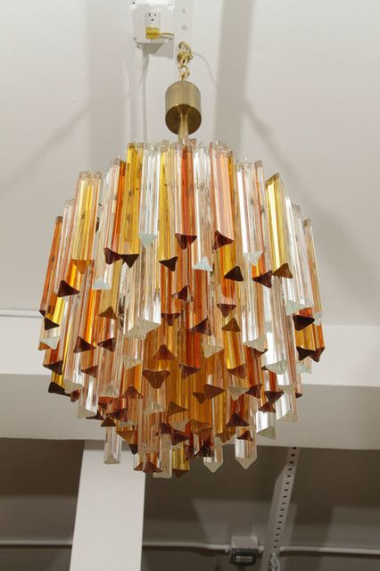 Seven Tier Venini Chandelier Chandeliers Glass And