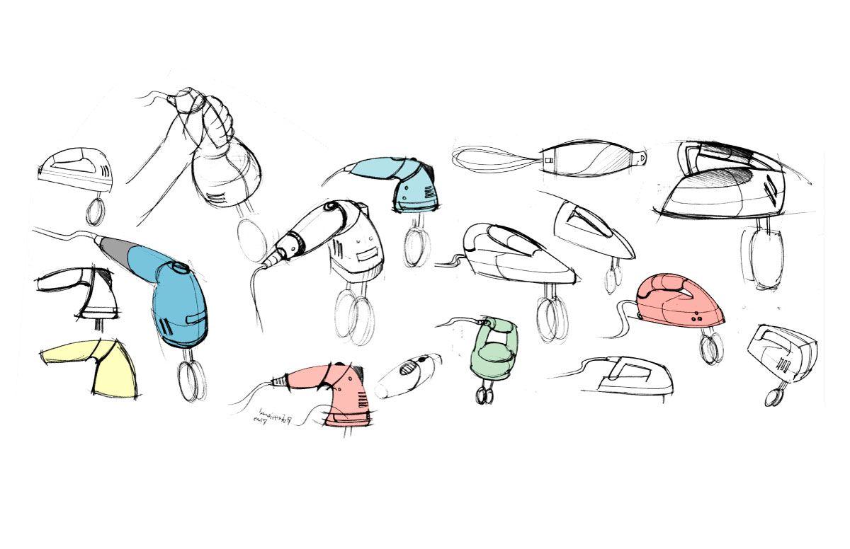 Sketches Sketches Of Kitchen Hand Mixer Redesign