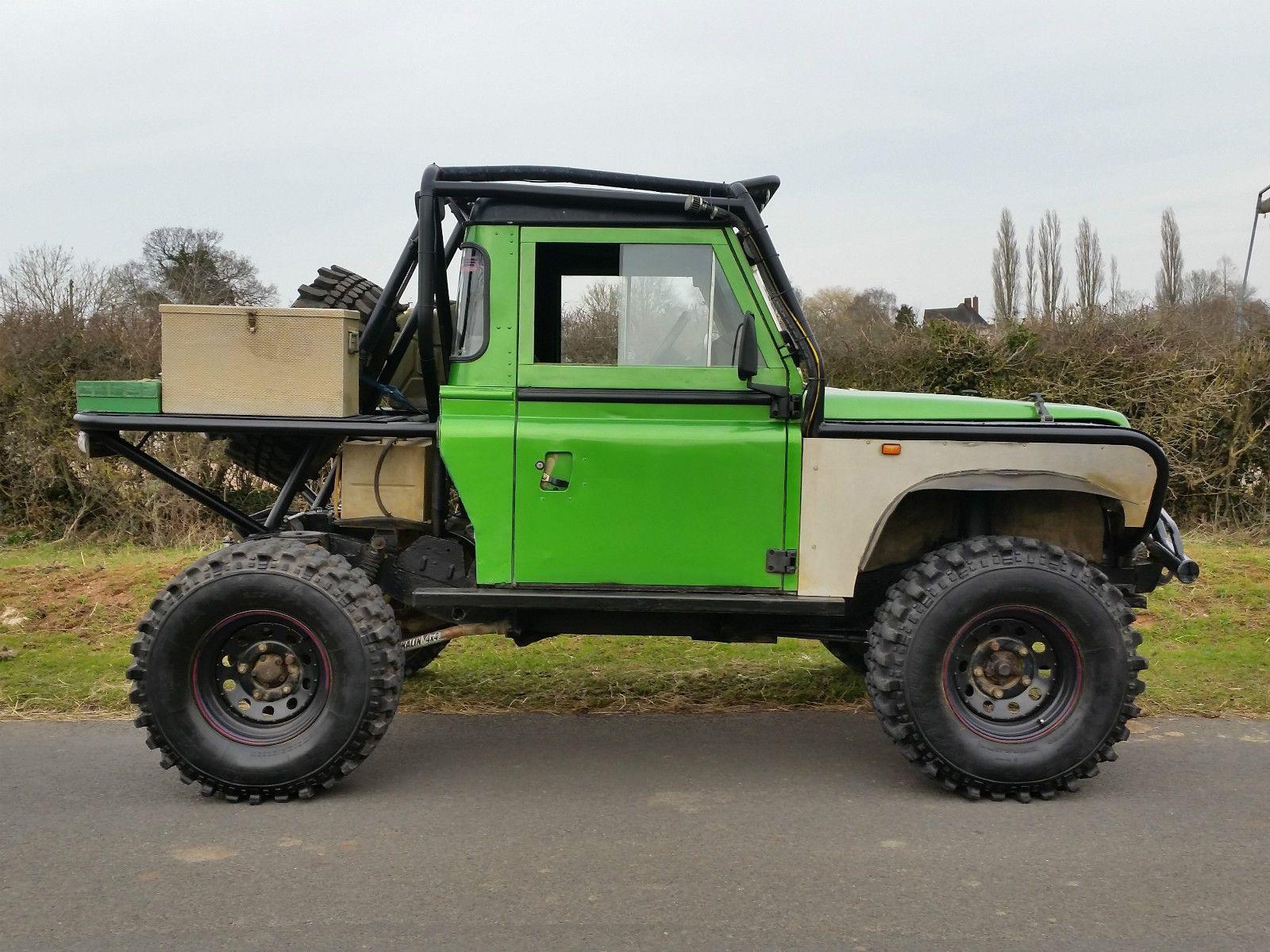 Land rover defender 90 tray back challenge truck stunning
