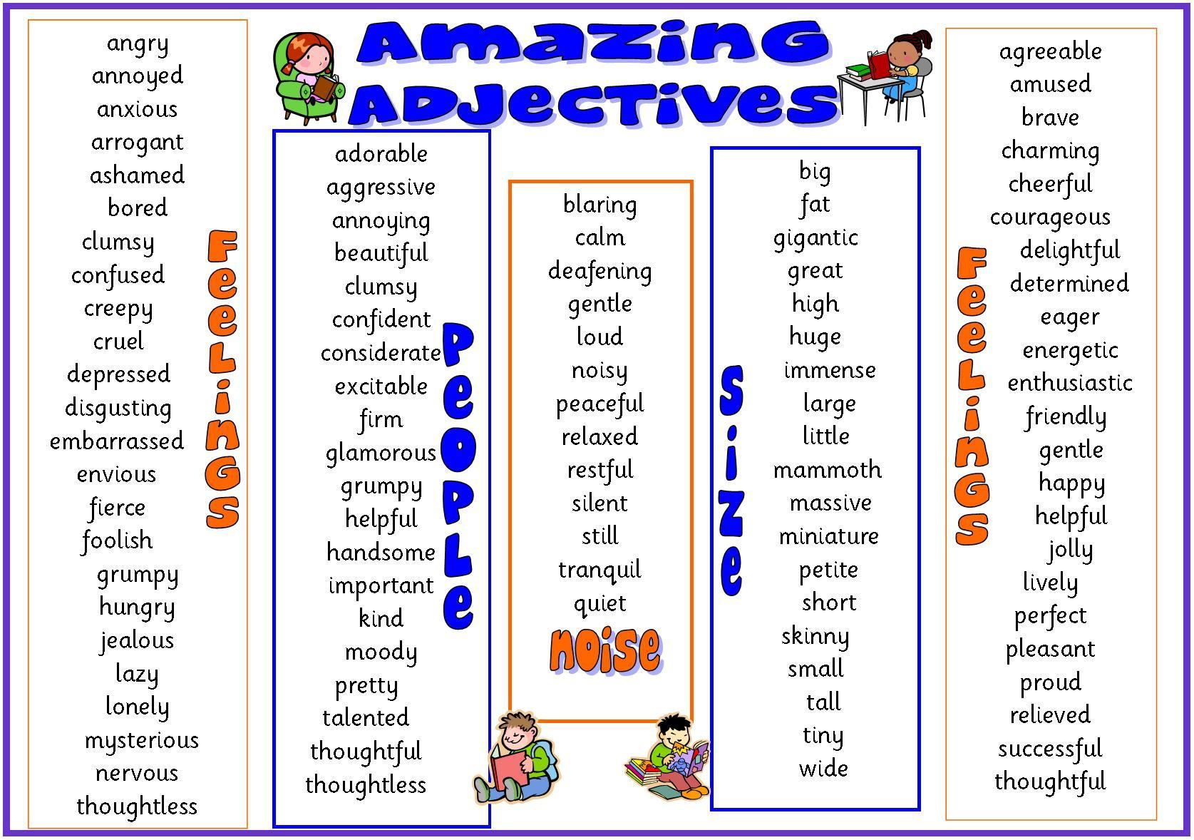 Adjectives Of Personality