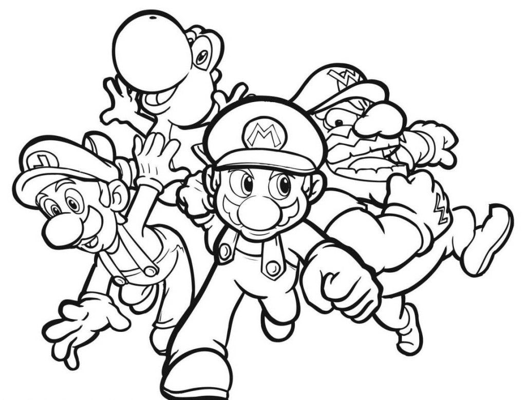 Awesome Free Printable Coloring Pages For Boys Free