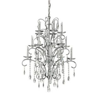 15 Light Crystal Chandelier From Homebase Co Uk Bedroom