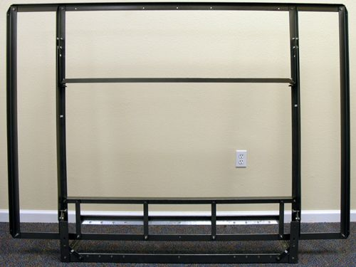 Murphy Bed Frames Free Standing Side Hinged Full Sized Bedframe