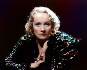 Image result for marlene dietrich color