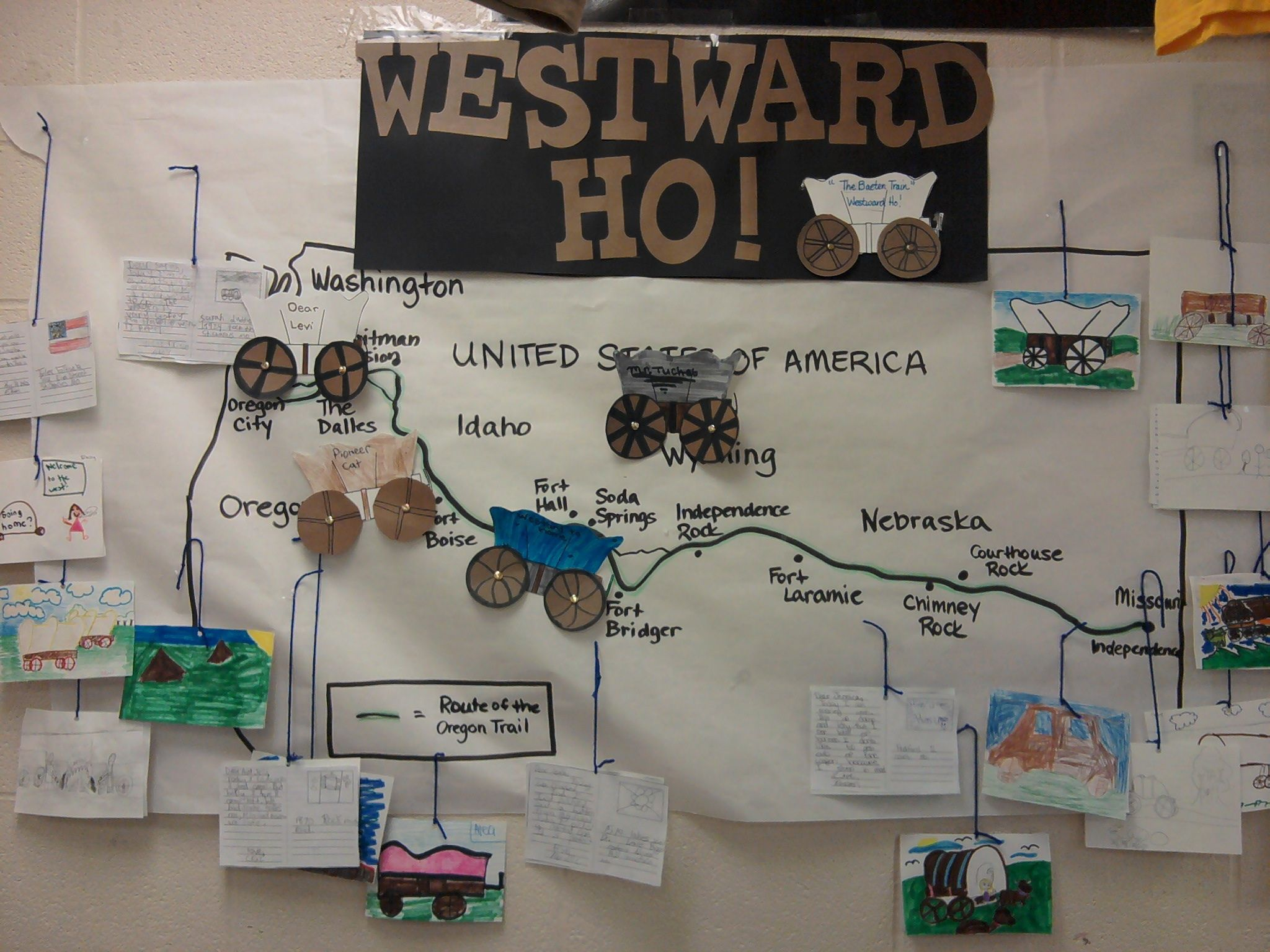 Westward Expansion Bulletin Board