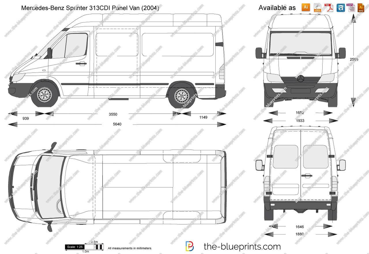 Mercedes Sprinter 313 Internal Dimensions 3