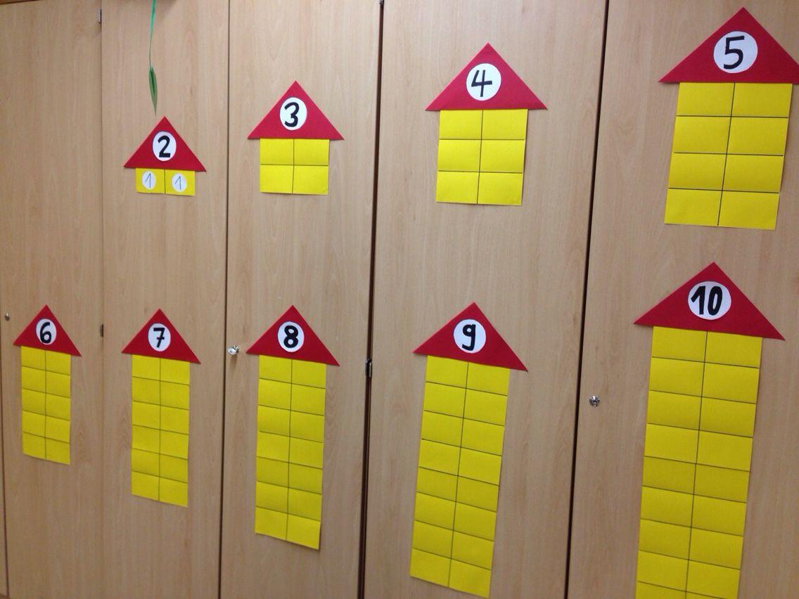Zahlenhauser Mathe Klasse 1