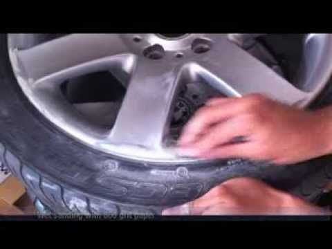 How To Repair And Paint Alloy Wheels At Home With Spray Cans Bmw 44s