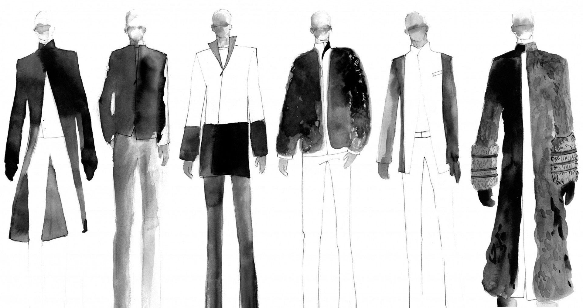 Male Fashion Drawing